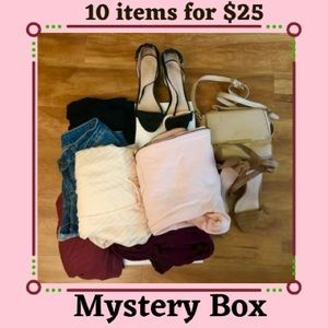Mystery Box 10 for $25 Lot of othes bundle 10 pc